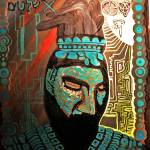 """Earth King Pakal the Shield"" by MotherMountain"