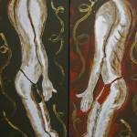 """TRIBAL SHOWDOWN"" by RoseLangfordPrints"
