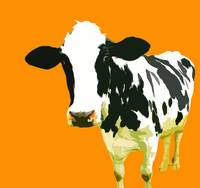 Cow in Yellow World