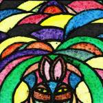 """Psychedelic Rabbit"" by timothycook"
