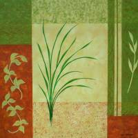 """Nile Grass I"" by Herb Dickinson"