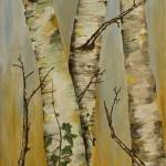 """Birch Trees"" by AlanPickersgill"