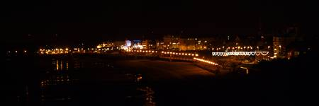 Bridlington North Side at Night