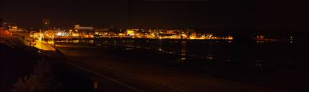 Bridlington South Side at Night