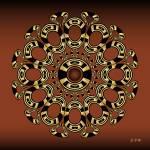 """Fleuron Composition No. 243"" by AlanBennington"