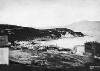 North Beach from Telegraph Hill, San Francisco1856
