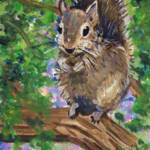 """Squirrel"" by paintingsbygretzky"