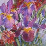 """Van Gogh-ish Iris"" by Newmoon"