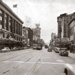 """Market Street viewing West from 5th, San Francisco"" by worldwidearchive"