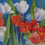 """""""Contemporary Tulips"""" by Newmoon"""
