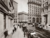 Palace Hotel from Montgomery 1909 by WorldWide Archive
