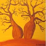 """BOAB TREES (Outback Australia)"" by RoseLangfordPrints"