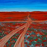 """CROSSROADS (OUTBACK AUSTRALIA) 2"" by RoseLangfordPrints"