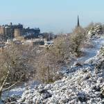 """Edinburgh in the Snow"" by michaelclancy"