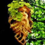 """Green Man"" by JenniferLaskerWhite"