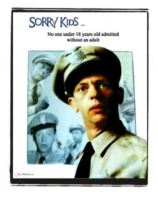 vintage posters of barney fife