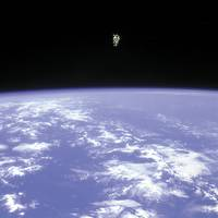 Bruce McCandless II Free Flying