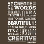"""Creative Running •Umber"" by Logophilia"