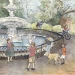 """Forsyth Park"" by joannasteege"