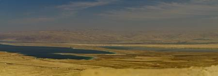 View from Masada to the Dead Sea
