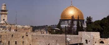 Temple Mount - Dome of Rock Panorama