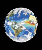 Satellite Image of Earth's Climate