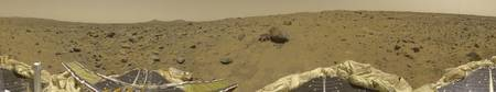 Panorama of Mars Pathfinder Landing Site