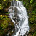 """Eastatoe Falls - WNC Waterfall Photography"" by DAPhoto"