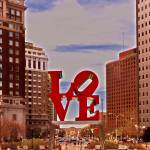 """Love Sculpture - Philadelphia - 2"" by FordLou"