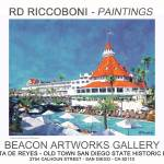 """Riccoboni Paintings Poster Coronado"" by BeaconArtWorksCorporation"