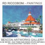 """Riccoboni Paintings Poster Coronado"" by BeaconArtWorksCorporation"