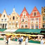 """MARKET SQUARE BRUGES BELGIUM"" by homegear"