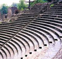 ROMAN THEATER LYON FRANCE