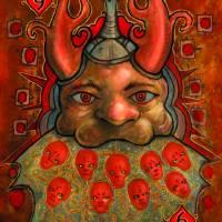 9 of Hearts Art Prints & Posters by Jason Zampol