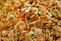 Flies on Dried Shrimp