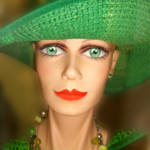 """""""Lady in Green"""" by AnneVis"""