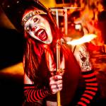 """Female Clown Fire 2"" by JacobMeudtPhotography"