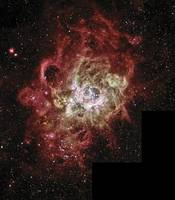 Nebula in the Constellation Triangulum