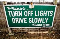 Please Turn Off Lights...