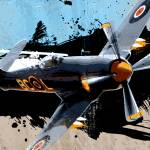 """Hawker Sea Fury"" by mediagraffiti"