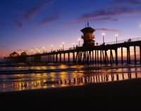 Huntington Pier at Evening