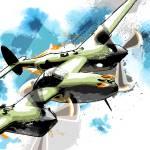 """""""P38 Lightning"""" by mediagraffiti"""