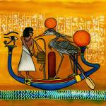 """Egyptian Barque, a soul"