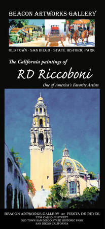 Beacon Artworks Gallery Riccoboni Poster