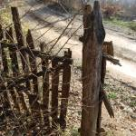 """Cemetery Gate in the Balkans"" by Leyland"