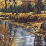 """Autumn Reflections"" by powellfineart"
