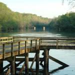 """McFarland Park Pier"" by ImagesbyMauveline"