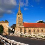 """Marlow Bridge and Church"" by elvimage"