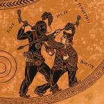 """Greek Vase Rappers"" by LisaHaney"