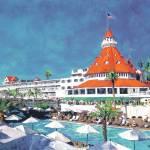 """Poolside At Hotel Del Coronado"" by RDRiccoboni"